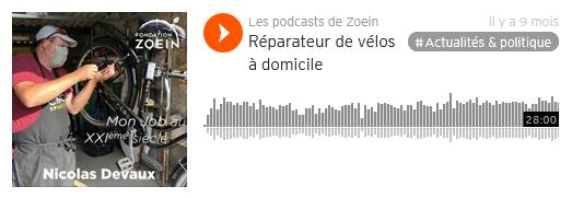 Les podcasts de Zoein